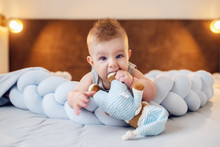 Cute Chubby Caucasian Little B...