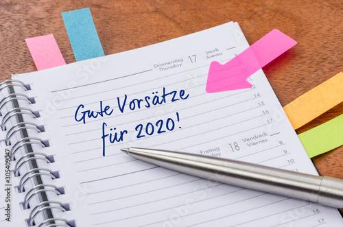 Photo Gute Vorsätze für 2020