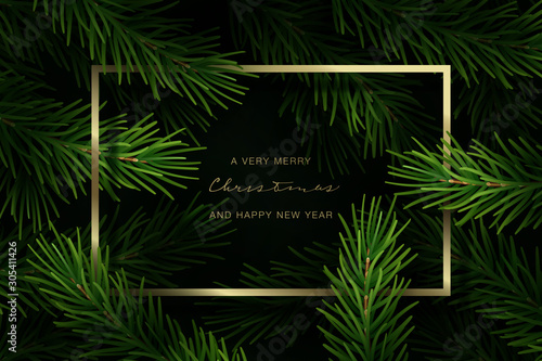 Spoed Foto op Canvas Hoogte schaal Holiday Greeting Card. Vector Illustration.