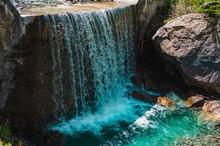 Beautiful Shot Of A Waterfall ...