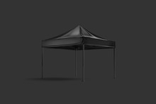 Blank Black Pop-up Canopy Tent...