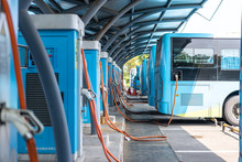 Bus Charging In Station