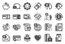Money Wallet Icons. Update Cre...