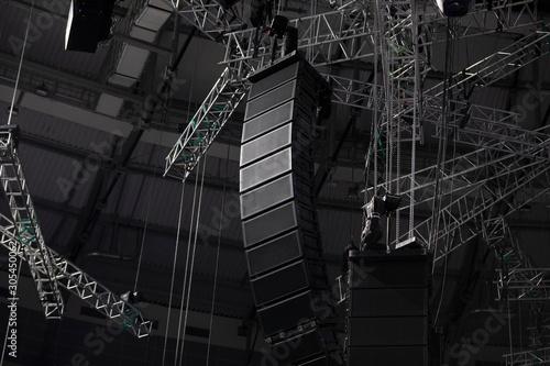 Professional sound speakers Fototapete