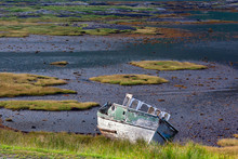 Old Boat On The Seashore - Isl...