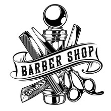 Barber Shop Hair Salon Hair St...
