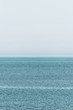 Blick aufs Meer in Richtung Horizont