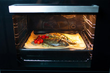 Cooking Fish In The Oven. Cook...