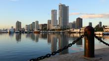 The Beautiful Skyline Of Manil...