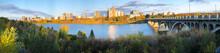 Panorama Of Saskatoon, Canada ...