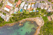 Aerial View Of Gordons Bay Nat...