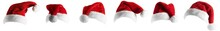 Isolated Santa Hat Collection ...