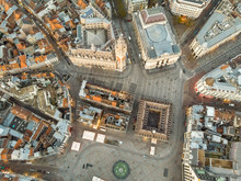 Aerial View Of Lille Historica...