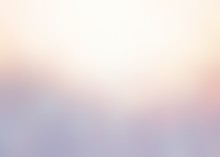 Warm Glow On Cold Blue Empty Background. Frosty Pastel Blurred Texture. Winter Subtle Abstract Illustration.