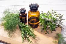 Herbal Essential Oil. Peppermi...