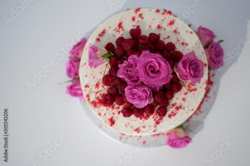 Fototapeta Róża w malinach obraz