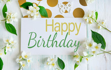 Happy Birthday Greeting Card W...