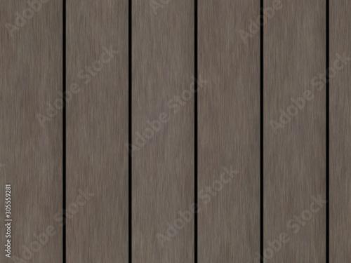Fototapeta Wood texture background pattern. Dark hardwood planks surface of wooden board floor wall fence. Abstract timber decorative illustration. obraz na płótnie