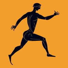 Running Ancient Greek Athlete....
