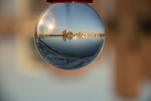 Crystal Ball With Ottawa - Gatineau Cityscape