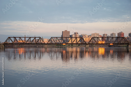ottawa skyline at sunset