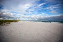 Walking The Beach In Pensacola Beach, FL