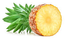 Pineapple Isolated On White Ba...
