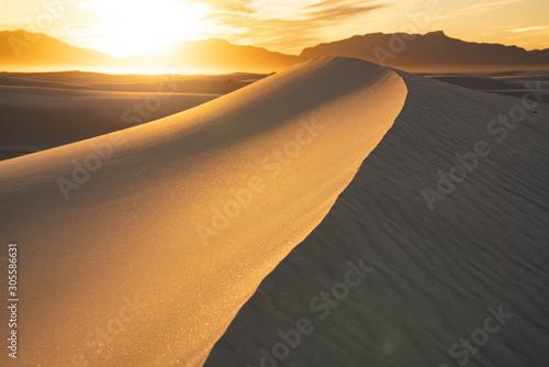 砂漠 Desert White Sands New Mexico Canvas Print