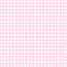Pink Background Checkered Tile...