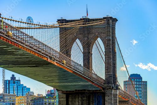 Obraz Brooklyn Bridge New York City USA - fototapety do salonu