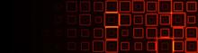 Bright Texture Of Neon Squares...