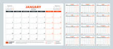 Calendar Planner For 2020 Year...