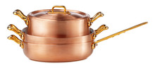 Clean And Shiny Copper Pot Iso...