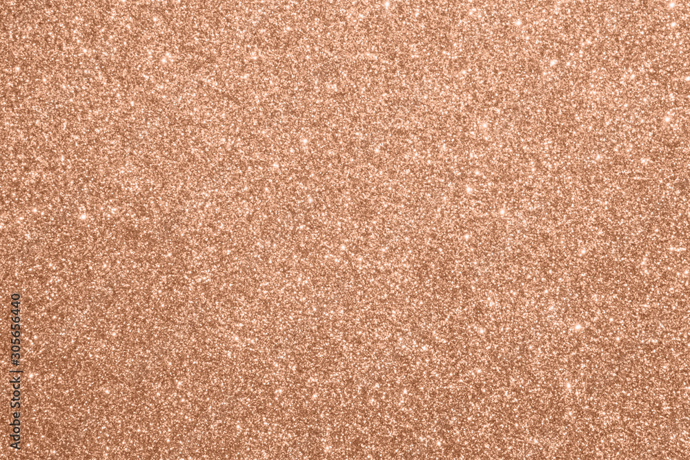 Fototapety, obrazy: Abstract blur rose gold glitter sparkle defocused bokeh light background