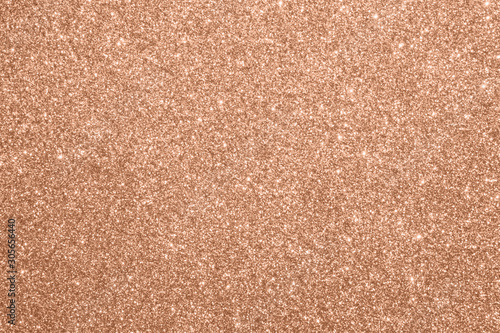 Poster Fleur Abstract blur rose gold glitter sparkle defocused bokeh light background