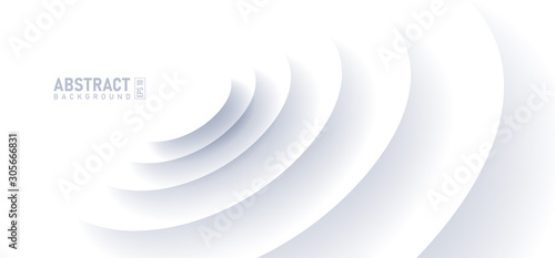 Valokuva Abstract ripple effect on white background