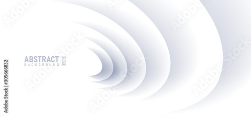 Fototapeta Abstract ripple effect on white background
