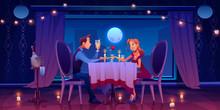 Couple Romantic Date Dinner, M...