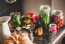 Autumn Vegetable Pickling And ...