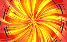 Festive Background Of Bright Colorful Speed Lines. Effect Motion Lines For Comic Book And Manga. Radial Sunbeams From Center Of Frame With Effect Explosion. Template For Web And Print Design. Vector