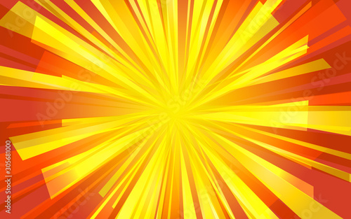 Festive background of bright colorful speed lines Tablou Canvas