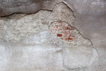 Plaster / Cement Decaying From...
