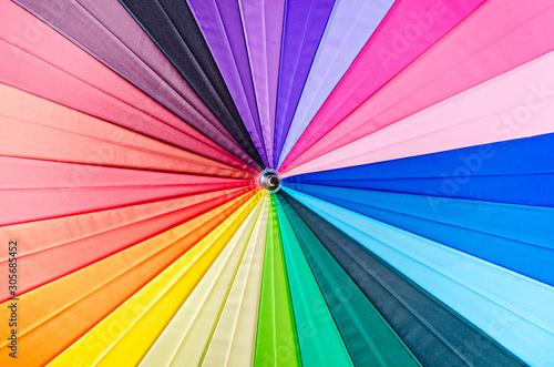 Obraz Rainbow spectrum multicolored texture. - fototapety do salonu