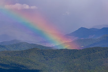 A Beautiful Rainbow Over The M...