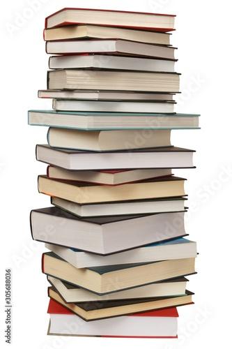 Fotografía High stack of books