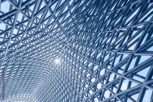 Fototapeta Steel frame structure