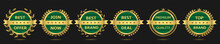 Golden Badge Set