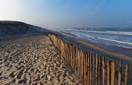 Photo Carcans beach in the Aquitaine coast