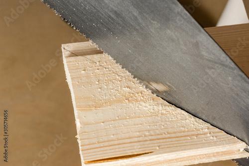 Fototapeta Old hand tools for wood. Sa. obraz na płótnie