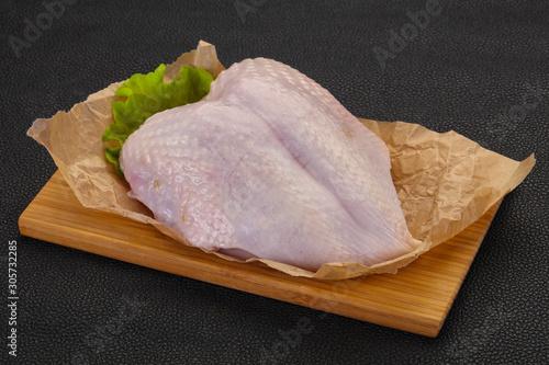 Photo  Raw chicken breast